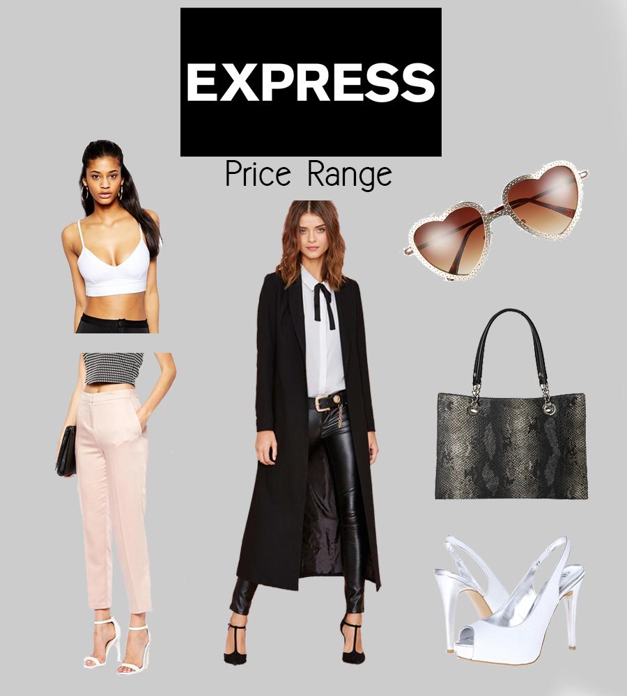 express price range